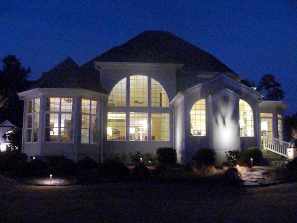 Greek Revival Traditional House Plan 72099 Rear Elevation