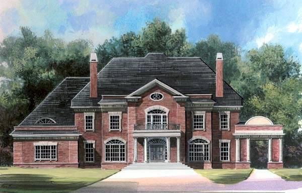 House Plan 72107