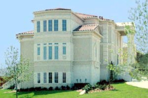 Colonial, Greek Revival Plan with 6177 Sq. Ft., 4 Bedrooms, 5 Bathrooms, 3 Car Garage Picture 3
