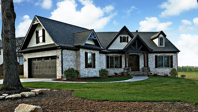 House Plan 72136 with 3 Beds, 3 Baths, 2 Car Garage Picture 2