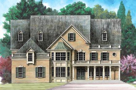 House Plan 72157