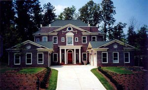 Colonial, Greek Revival, Plantation House Plan 72158 with 4 Beds, 4 Baths, 4 Car Garage Picture 4