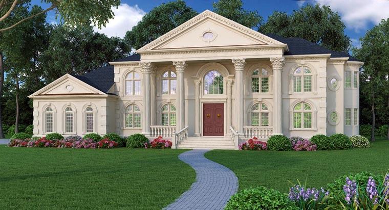 House plan 72163 at for Home plans com