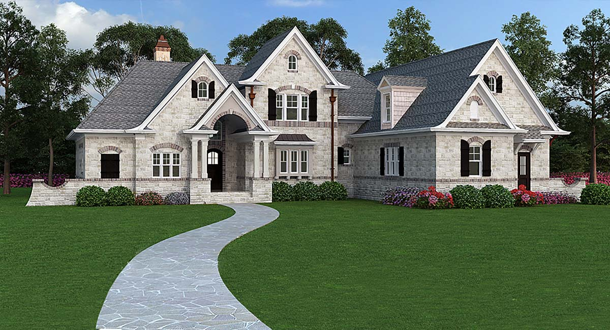 European French Country Traditional House Plan 72166 Elevation