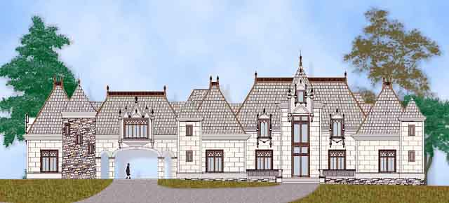 European French Country House Plan 72229 Elevation