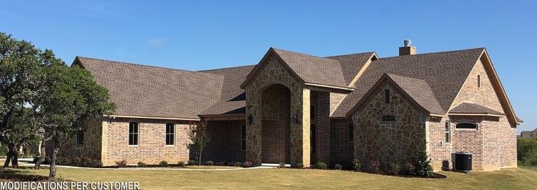 European Traditional House Plan 72246 Elevation