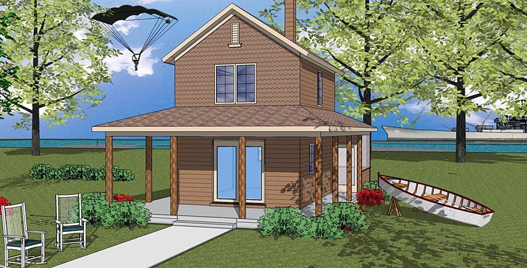 House plan 72324 at for 16x32 2 story house plans