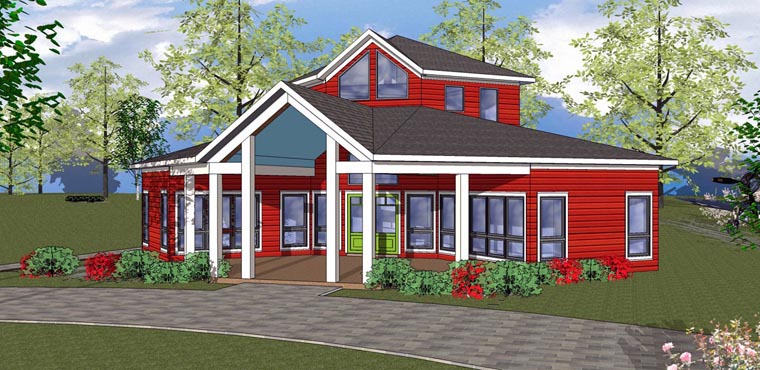 House Plan 72329