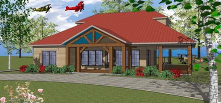 Coastal, Southern House Plan 72370 with 3 Beds, 3 Baths