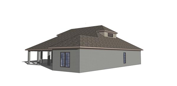 Coastal, Southern House Plan 72370 with 3 Beds, 3 Baths Picture 2