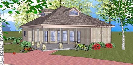 House Plan 72384