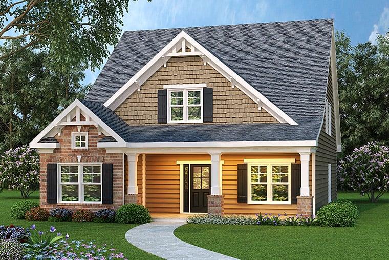 House Plan 72504 Elevation