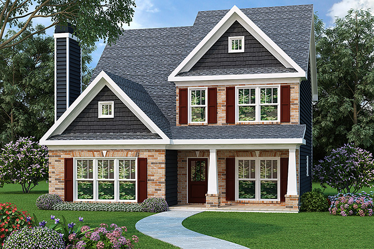 House Plan 72512 Elevation