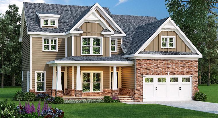 House Plan 72515 Elevation
