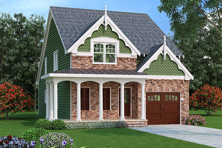House Plan 72534 Elevation