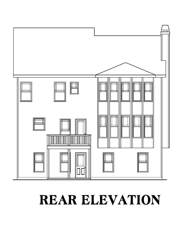 Elevation Plan Notes : House plan at familyhomeplans