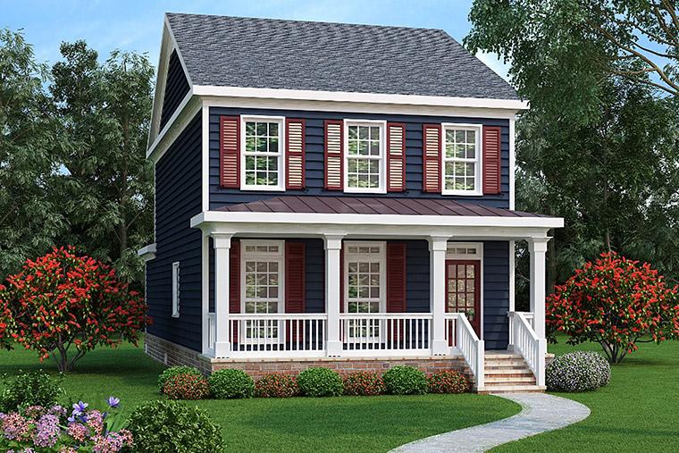 House Plan 72570 Elevation