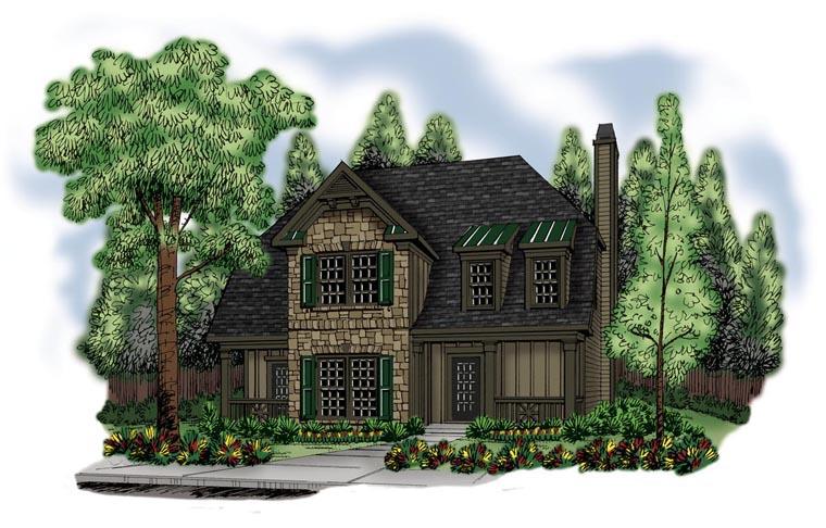 House Plan 72593 Elevation