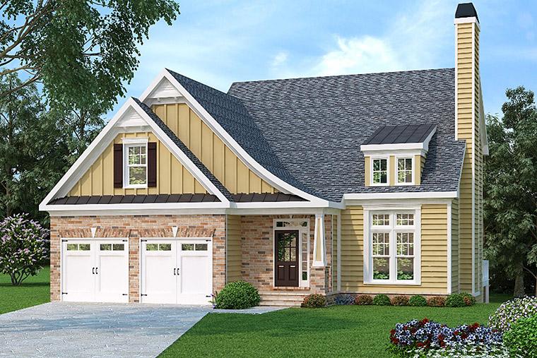 House Plan 72602 Elevation