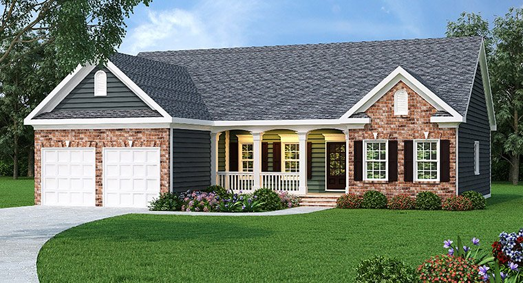 House plan 72621 at for Home plans com