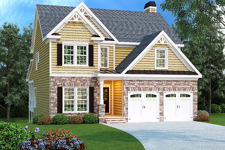 House Plan 72626 Elevation