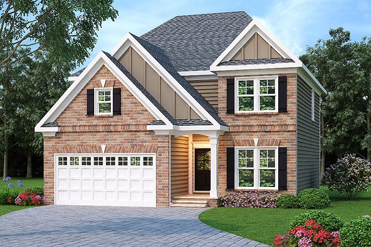 House Plan 72641 Elevation