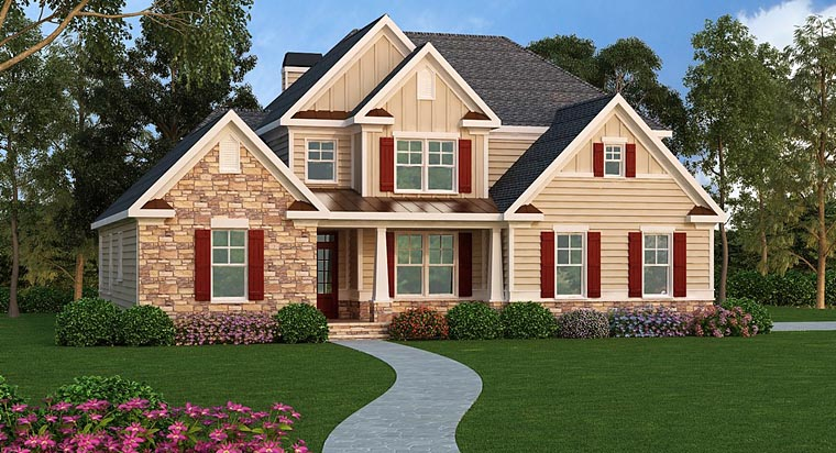Southern Traditional House Plan 72661 Elevation