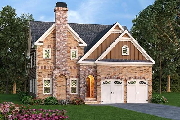 European, Southern, Traditional House Plan 72685 with 5 Beds, 5 Baths, 2 Car Garage Elevation