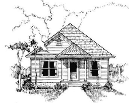 House Plan 72706