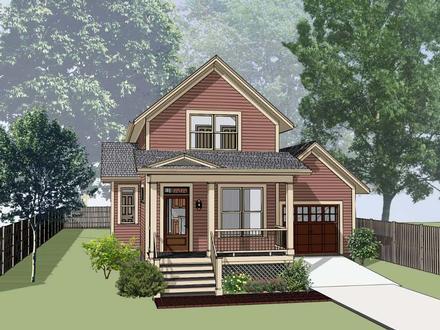House Plan 72729