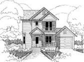 House Plan 72740