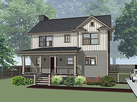 House Plan 72742