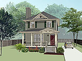 House Plan 72744