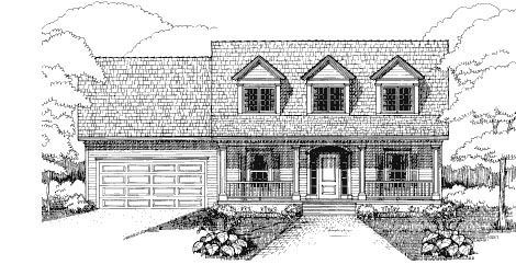 Bungalow House Plan 72755 Elevation