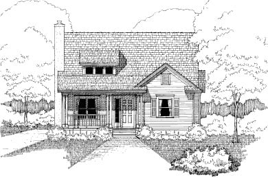 Bungalow House Plan 72759 Elevation