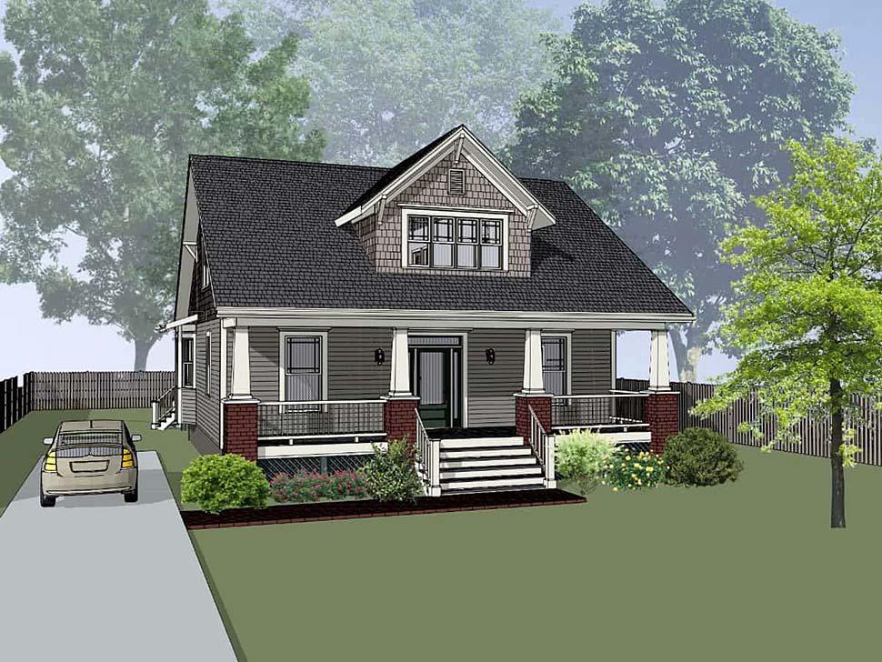 Bungalow House Plan 72763 Elevation