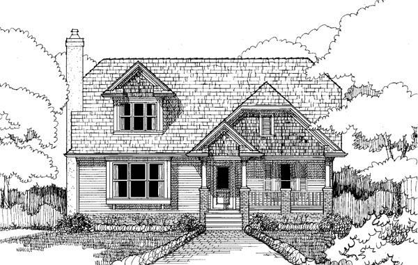 Craftsman House Plan 72767 Elevation