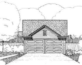 Garage Plan 72783