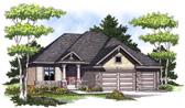 Plan Number 73002 - 1580 Square Feet