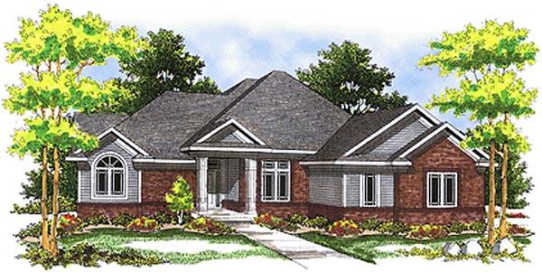 House Plan 73074 Elevation