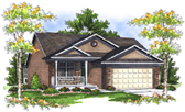 Plan Number 73079 - 1918 Square Feet