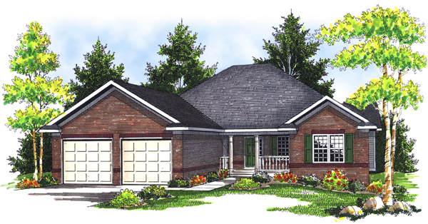Traditional House Plan 73088 Elevation
