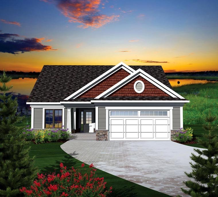 Ranch Style House Plan 73126 with 2 Bed, 2 Bath, 2 Car Garage on ranch house entrances, ranch house landscaping, ranch house barn, ranch house elevations, ranch house stairs, ranch house decks, ranch house roof designs, ranch house furniture, ranch house driveways, ranch house patios,