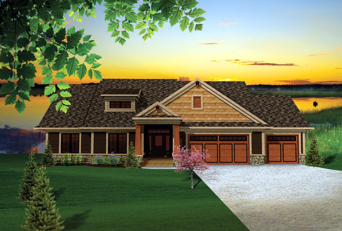 House Plan 73140 at FamilyHomePlanscom