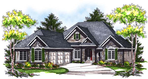 House Plan 73177 At