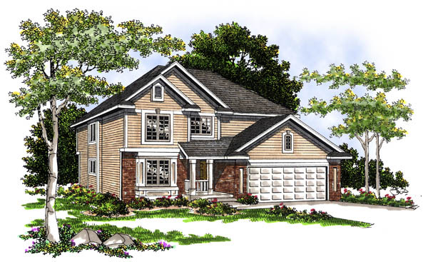 Country House Plan 73239 Elevation