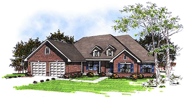 Traditional House Plan 73283 Elevation