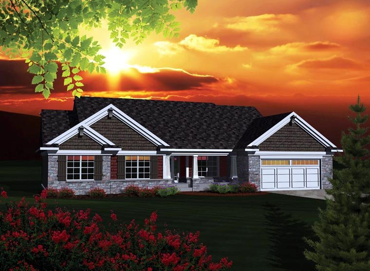 House Plan 73301 At