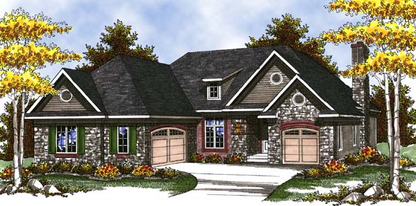 House Plan 73317 At Familyhomeplans Com