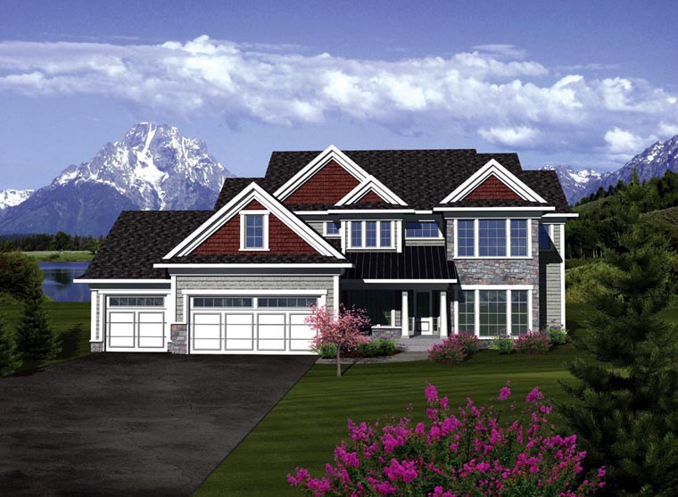 Traditional House Plan 73405 Elevation